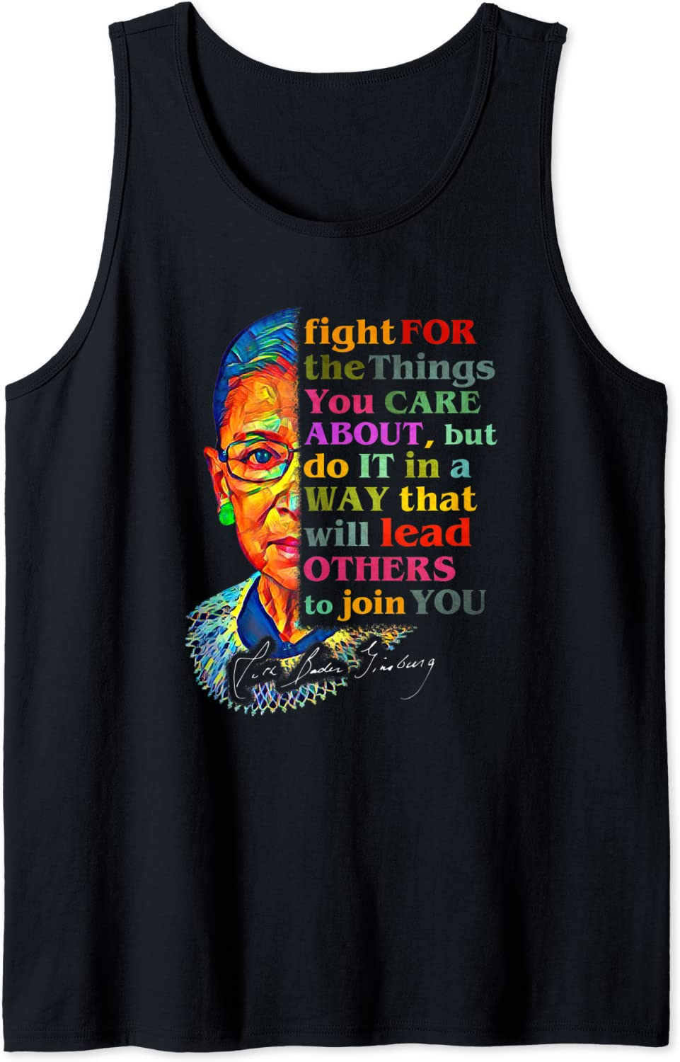 Ruth Topics on free shipping TV Bader Ginsburg Fight For The Care About Tank You Things Top