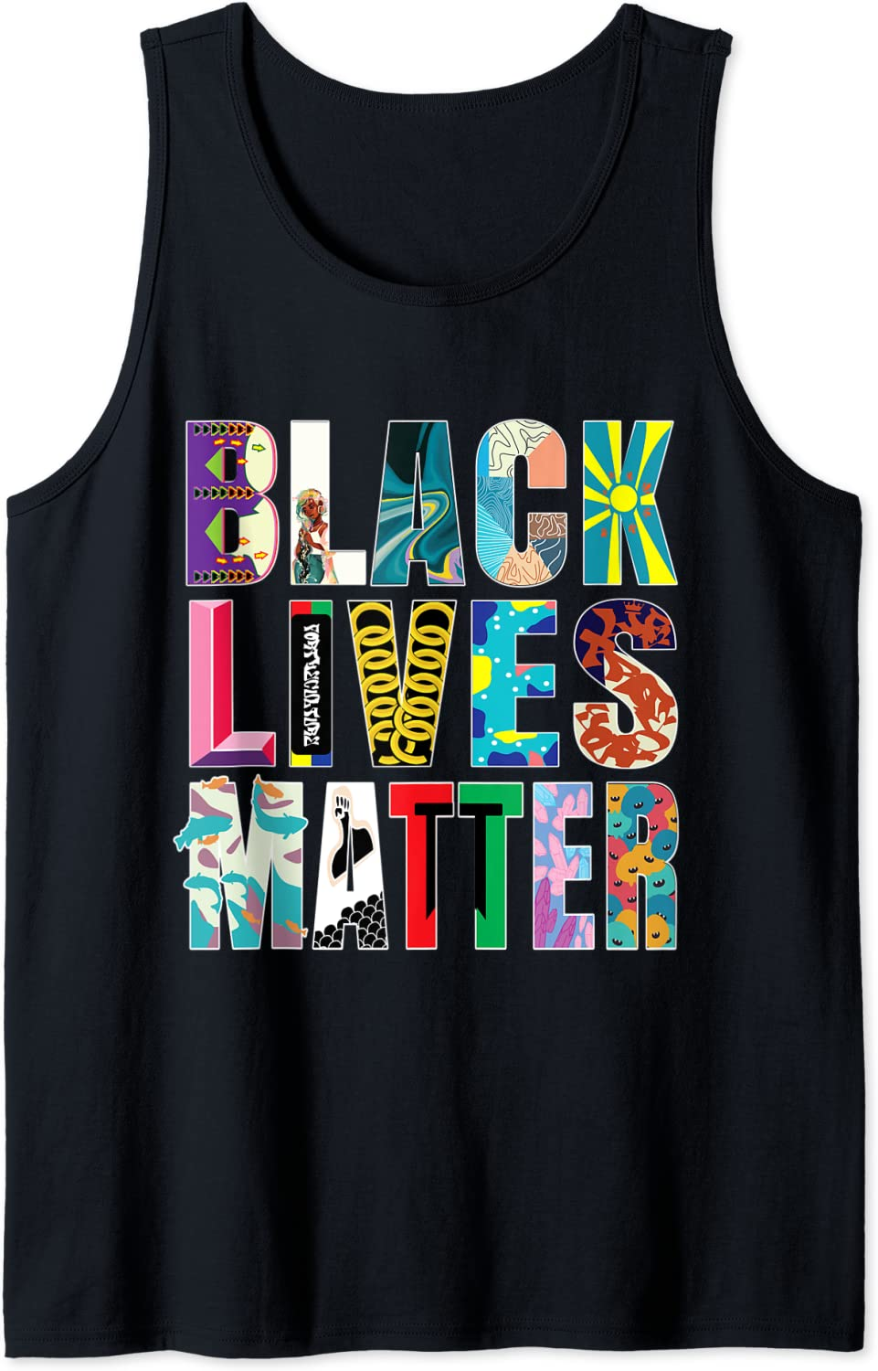 We OFFer at cheap prices Limited price sale Black Lives Matter - Tank Top Diversity Celebrate