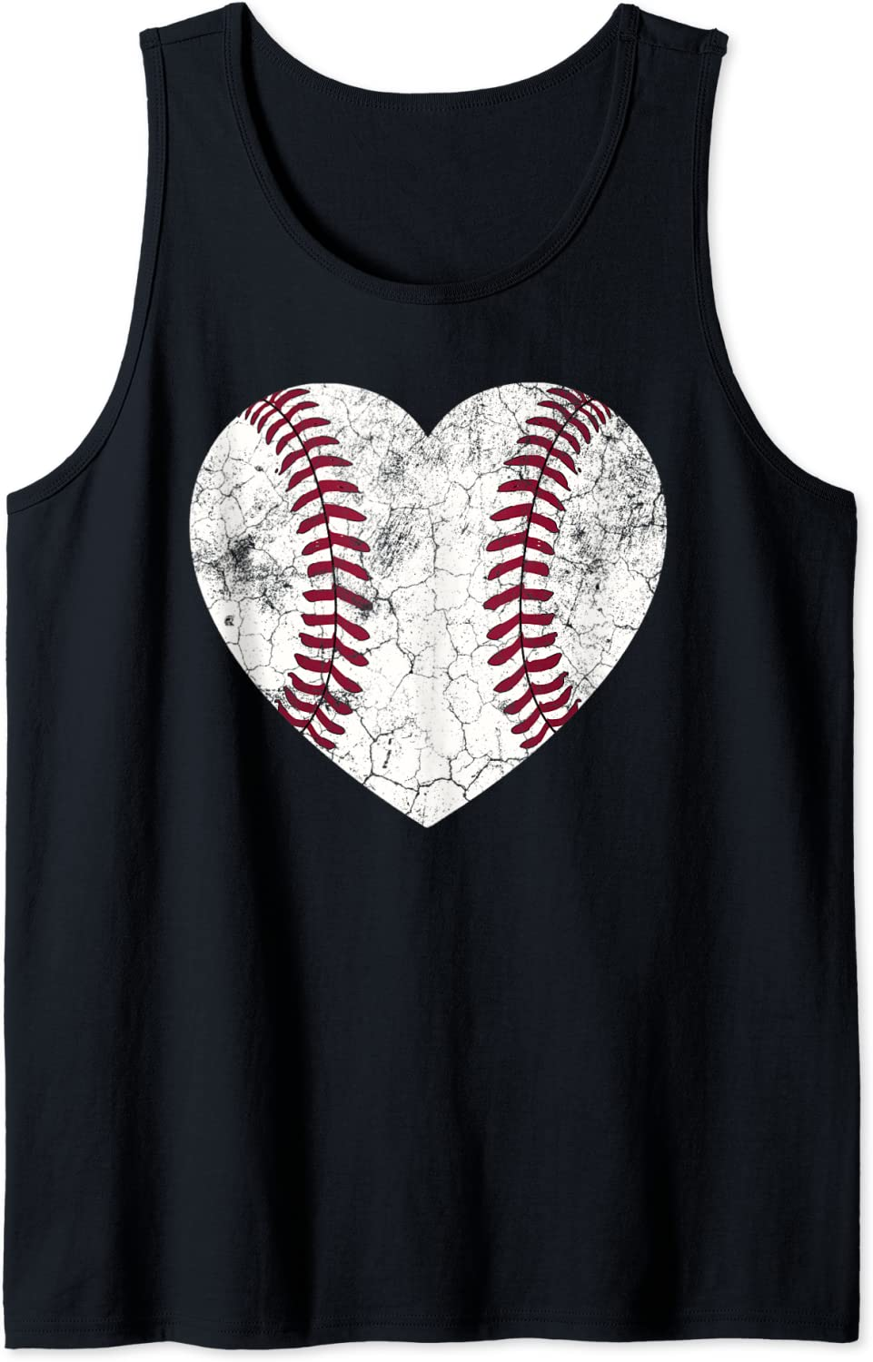 Mother's Day Gift Distressed Heart Baseball Super popular specialty store Tank Mommy Mom 35% OFF