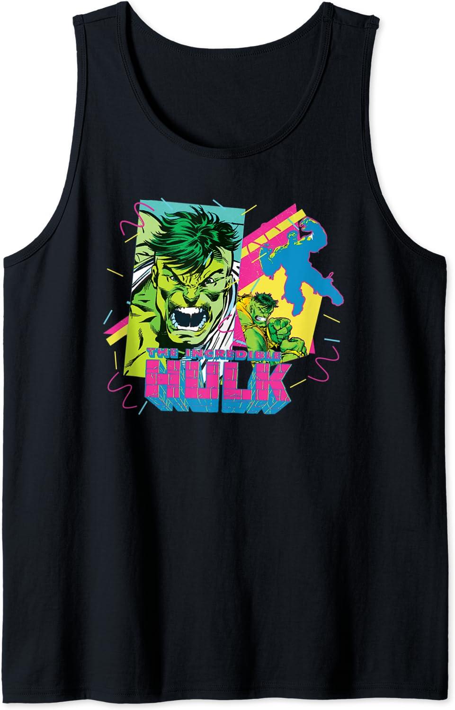 Marvel Fresno Mall The Incredible Hulk Tank Retro Top 90s supreme