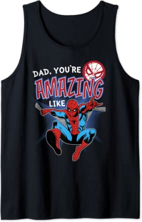 Marvel Spider-Man Amazing Dad Father's Day Débardeur