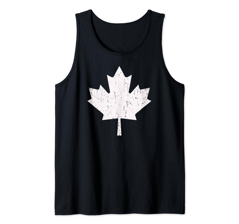 Vintage Maple Leaf Canadian Flag Canada Day Shirts