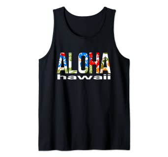 40e69fc3 Image Unavailable. Image not available for. Color: Aloha Hawaiian Flowers  Hawaii Funny Vacation Surf ...
