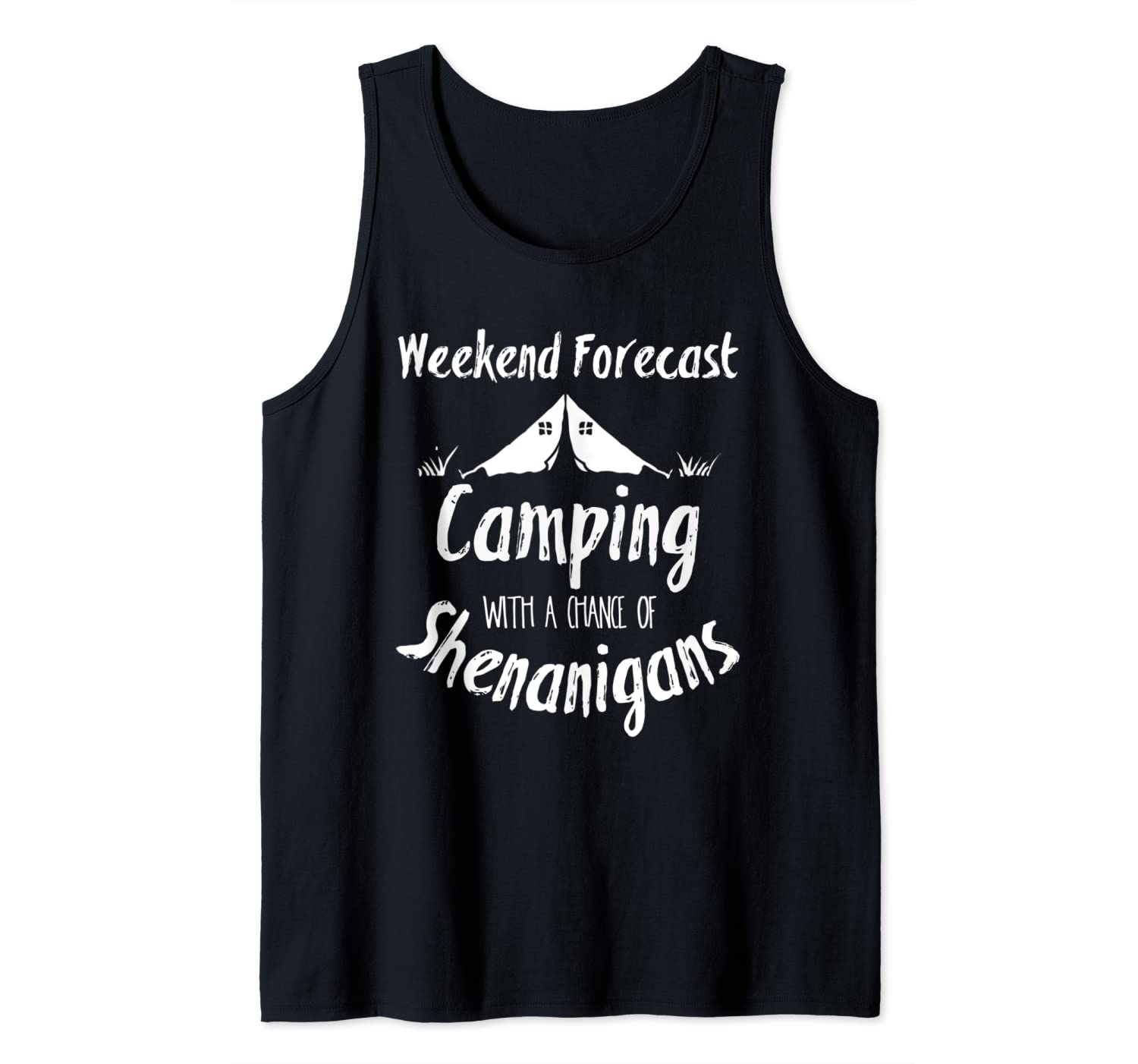 Camping Matching Family Scouting Group for Vacation Tank Top