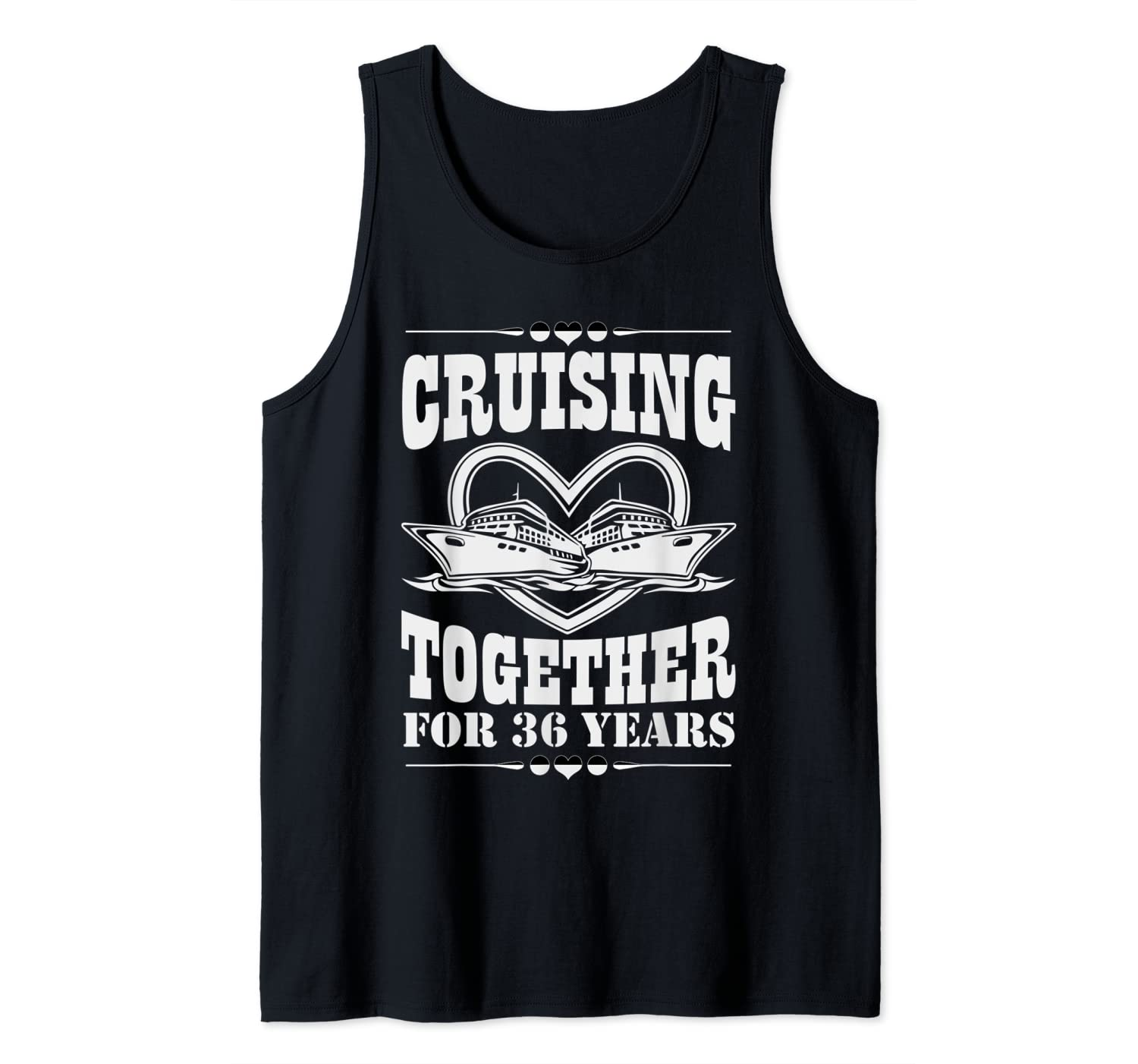 Great Wedding Anniversary Gifts: 36th Wedding Anniversary Gift Cruising Together For 36