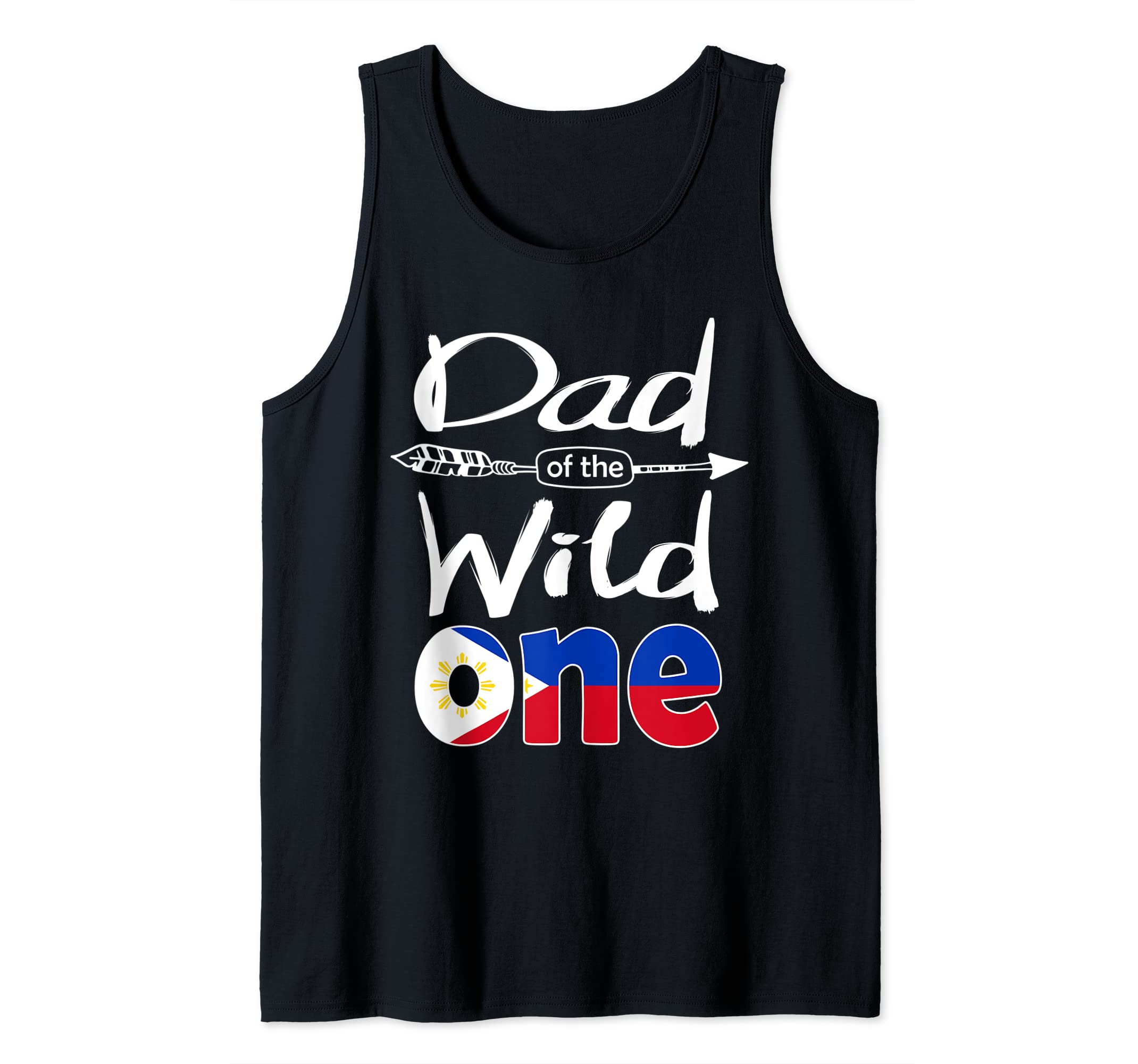 Amazon Mens Filipino Pinoy Dad Of The Wild One Birthday Philippines Flag Tank Top Clothing