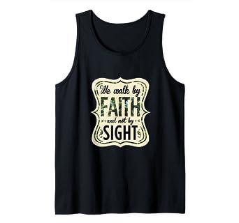 Amazon com: Walk By Faith Not By Sight Christian Clothing