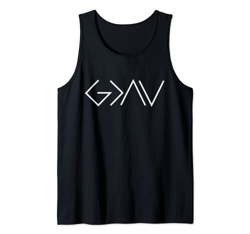 God Is Greater Than Our Highs And Our Lows Know Him Tank Top