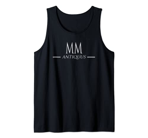 Happy 19th Birthday Gift 2000 Roman Numerals Latin Vintage Tank Top