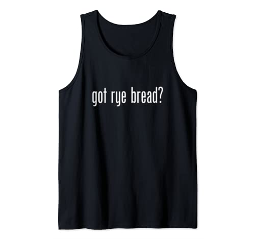 Got Rye Bread Retro Advert Logo Parody Funny Tank Top