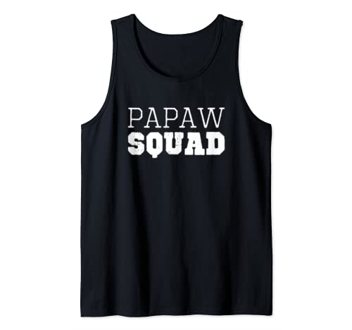 Papaw Squad Cool Funny Gift Tank Top