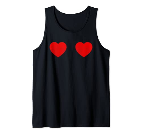 Cute Valentine's Day Outfit Boyfriend Girlfriend Tee Gifts Tank Top