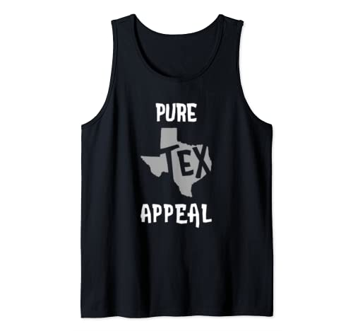 Pure Tex Appeal Funny Sex Appeal Texas Pun Tank Top