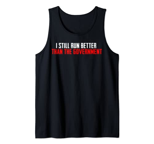 Funny Distressed Gift For Leg Amputee Tank Top