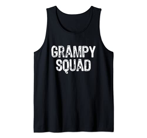 Grampy Squad Funny Cool Gift Tank Top