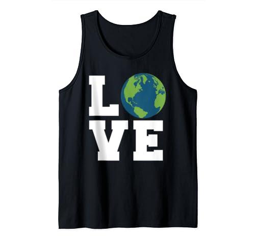 Earth Love Novelty Earth Day Love Earth Tank Top