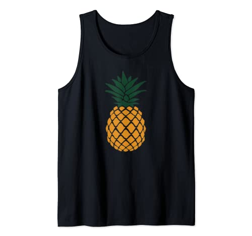 Psych Pineapple Hipster Awesome Funny Tank Top