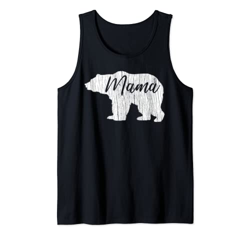 Mama Bear Mother's Day Mom Women Birthday Christmas Gifts Tank Top