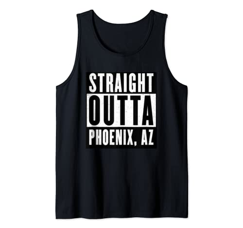 Straight Outta Arizona Tshirt Phoenix Home Tee V Neck  Tank Top