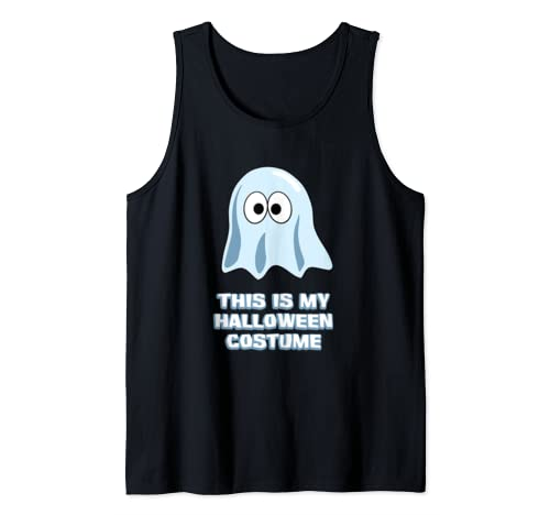 This Is My Halloween Costume Funny Halloween Tank Top