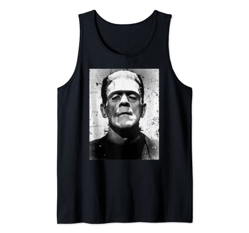 Classic Halloween Monster Poster Horror Movie Frankenstein Tank Top