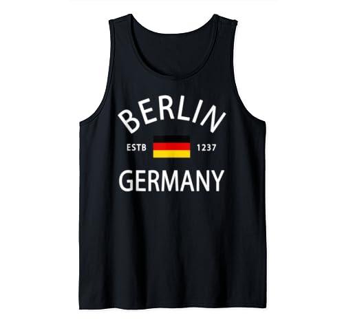 Germany Flag   Deutschland German History   Berlin Germany Tank Top