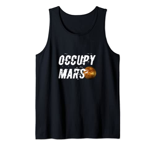 Occupy Mars Tank Top