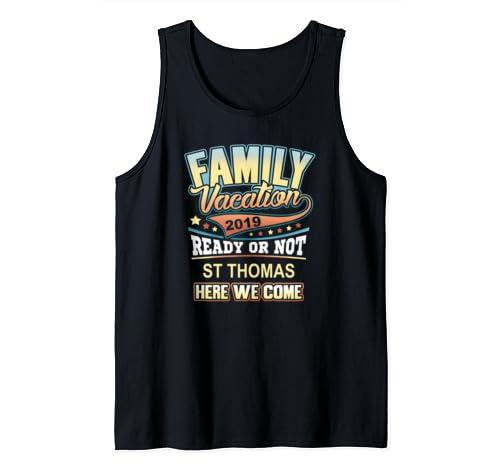 St Thomas Family Vacation 2019  Tank Top