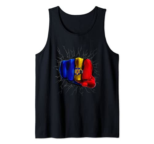 Romania Flag Romanian Tank Top