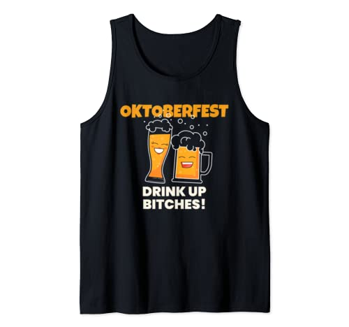 Oktoberfest Inspired Design For German Oktoberfest Lovers Tank Top