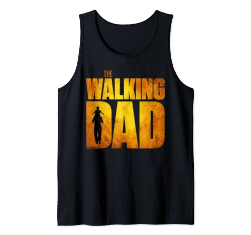 Walking Dad Fathers Day Best Grandfather Tank Top