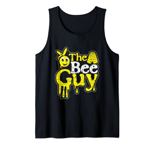 The Bee Guy Beekeeper Honey Bees Beekeeping Apiarist Gift Tank Top
