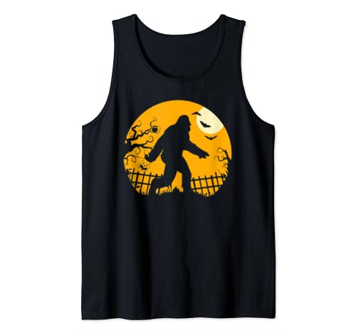 Bigfoot Halloween Funny Cool Novelty Costume Gift Mens Women Tank Top