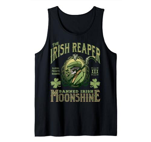 Irish Reaper Moonshine St. Patrick's Day Tank Top