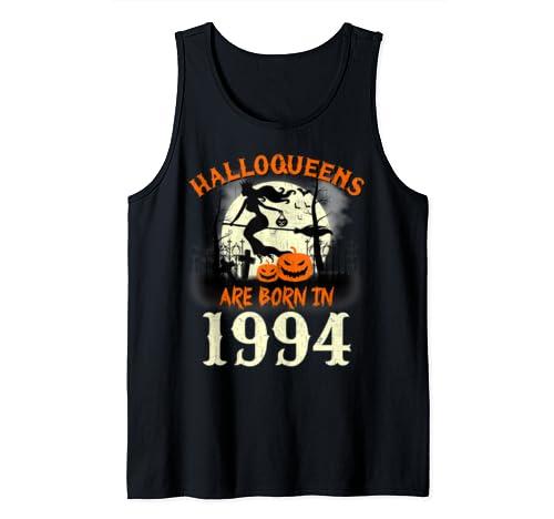 Halloqueens Are Born In 1994 Halloween Birthday Tank Top