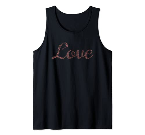Love Valentines Day Rose Flower Gift Idea Tank Top