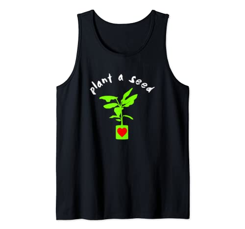 Earth Day Plant A Seed Tree Planting  Tank Top