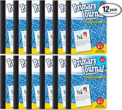 Primary Journal, Hardcover, Primary Composition Book Notebook - Grades K-2, 100 Sheet, One Subject, 9.75