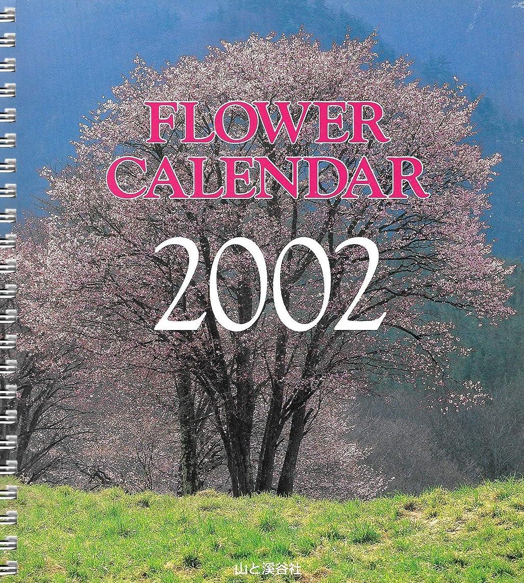 ホイップ衣服発疹フラワーカレンダー 2002