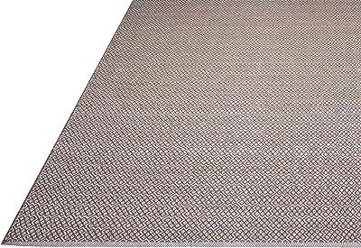 FAB HAB Bodhi - Tapis Beige en Coton recyclé (60 cm x 90 cm)