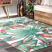 nuLOOM Lindsey Country Floral Indoor/Outdoor Rug, 5' x 8', Multi