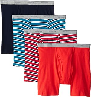 Fruit of the Loom Men's Stripe Solid X-Size Boxer Brief