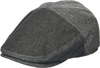 Men's Ivy Newsboy Hat, Ash, Small/Medium