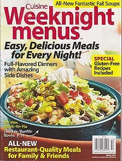 Cuisine Weeknight Menus Magazine Winter 2015