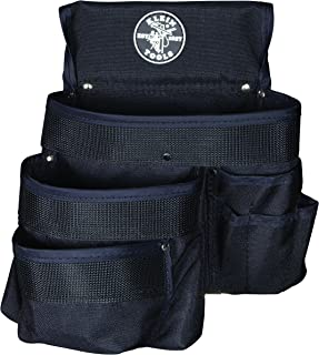 حقيبة أدوات 5700 من كلاين تولز ، 9 قطع ، 28 × 30 سم ، نايلون ، أسود