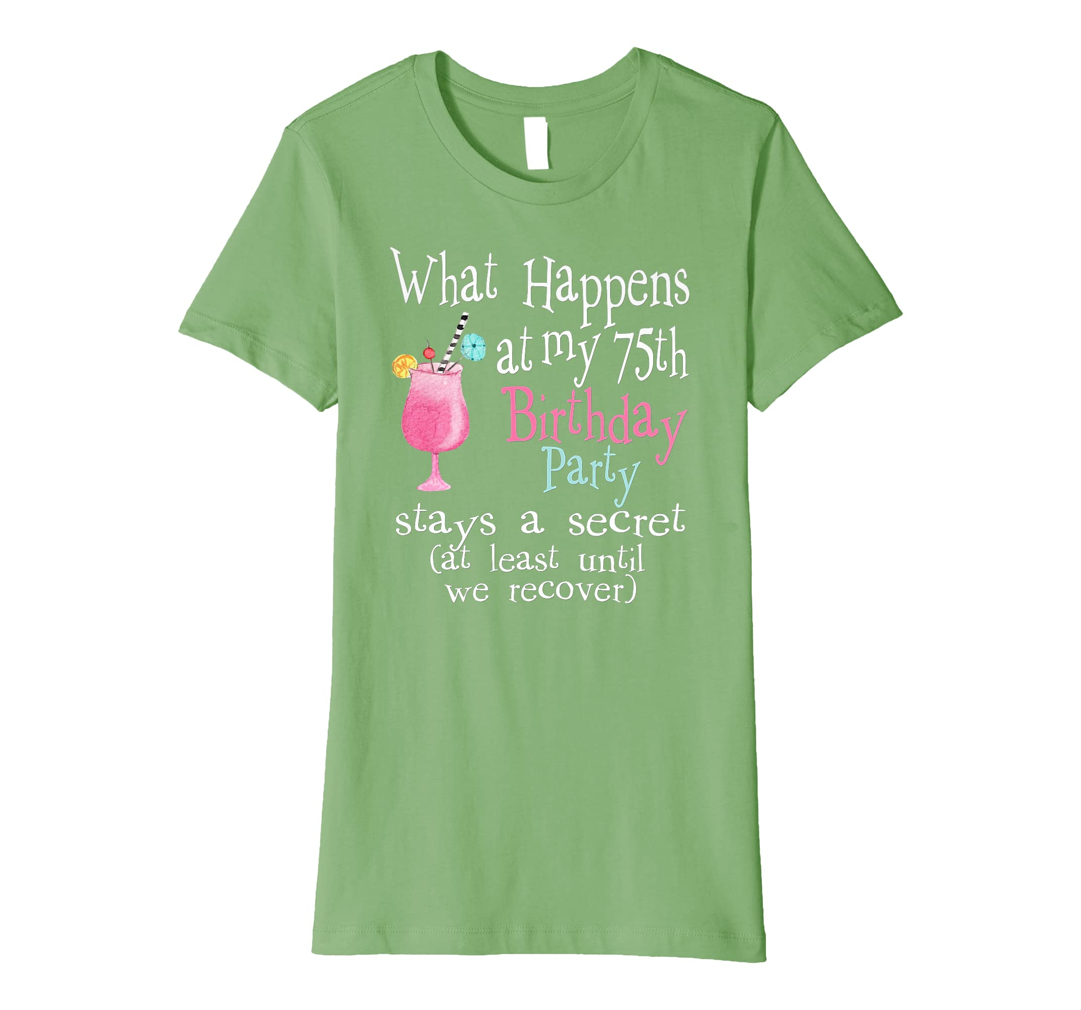Amazon Cute 75th Birthday T Shirt