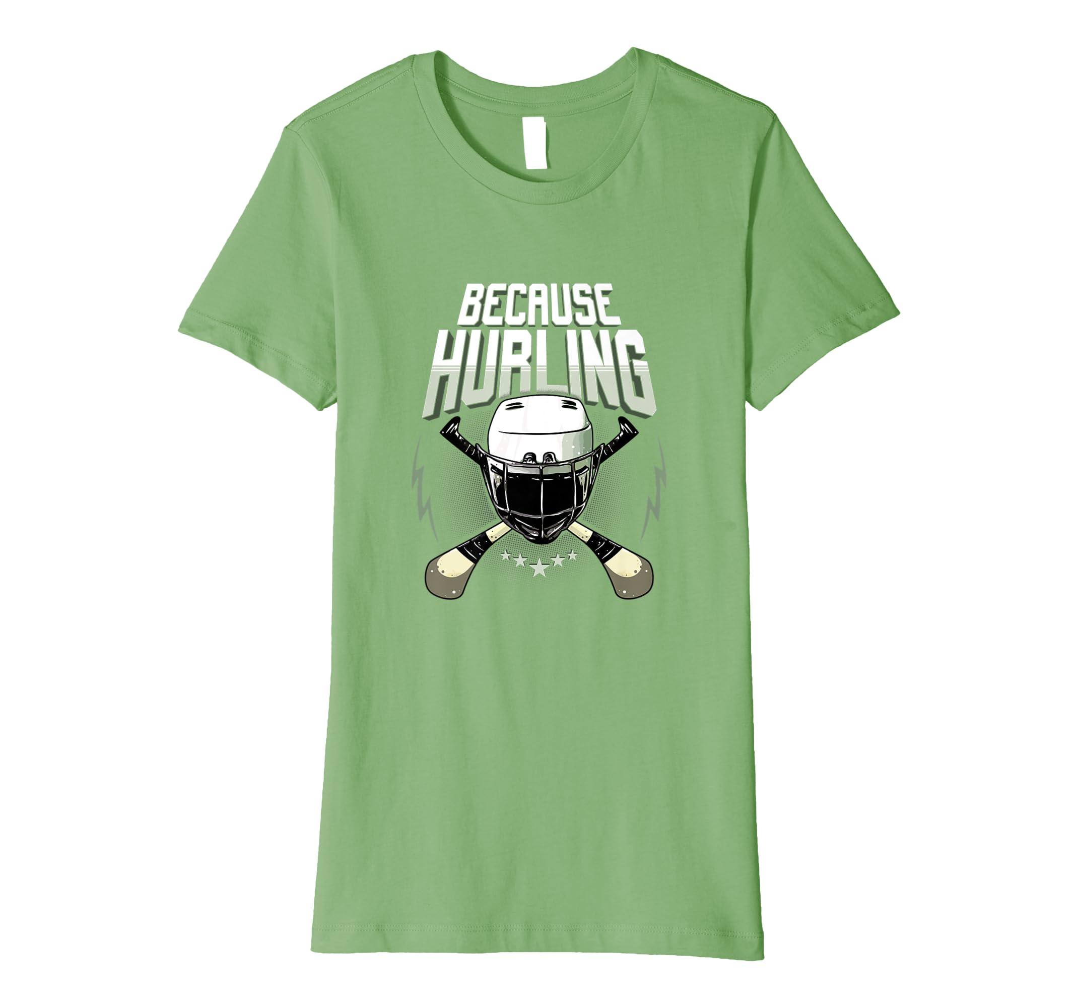 4bf7257a92ff5 Amazon.com: Fun Ireland Hurling Gift T-shirt Love Irish Sports: Clothing