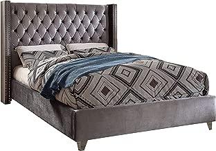 Best dark grey velvet bed frame Reviews