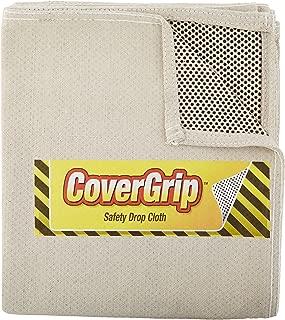CoverGrip 35408 Quick 8 oz. Canvas Safety Drop Cloth, 3.5' x 4'