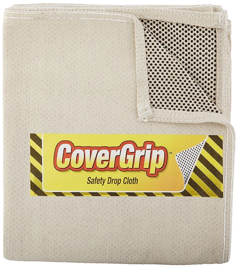 かろうじて弱めるコーラスCoverGrip 351208 8オンス キャンバス 安全ハネよけ布, 3.5インチ x 12インチ 3.5' x 4' 35408 1